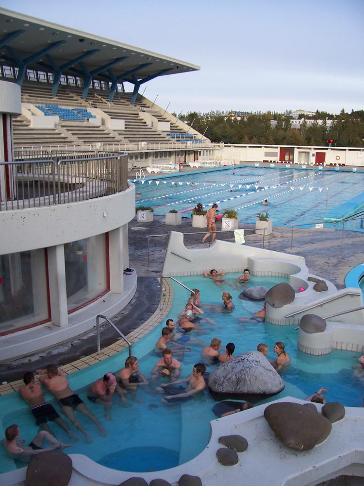 photo of Laugardalslaug swimming pool reykjavík iceland
