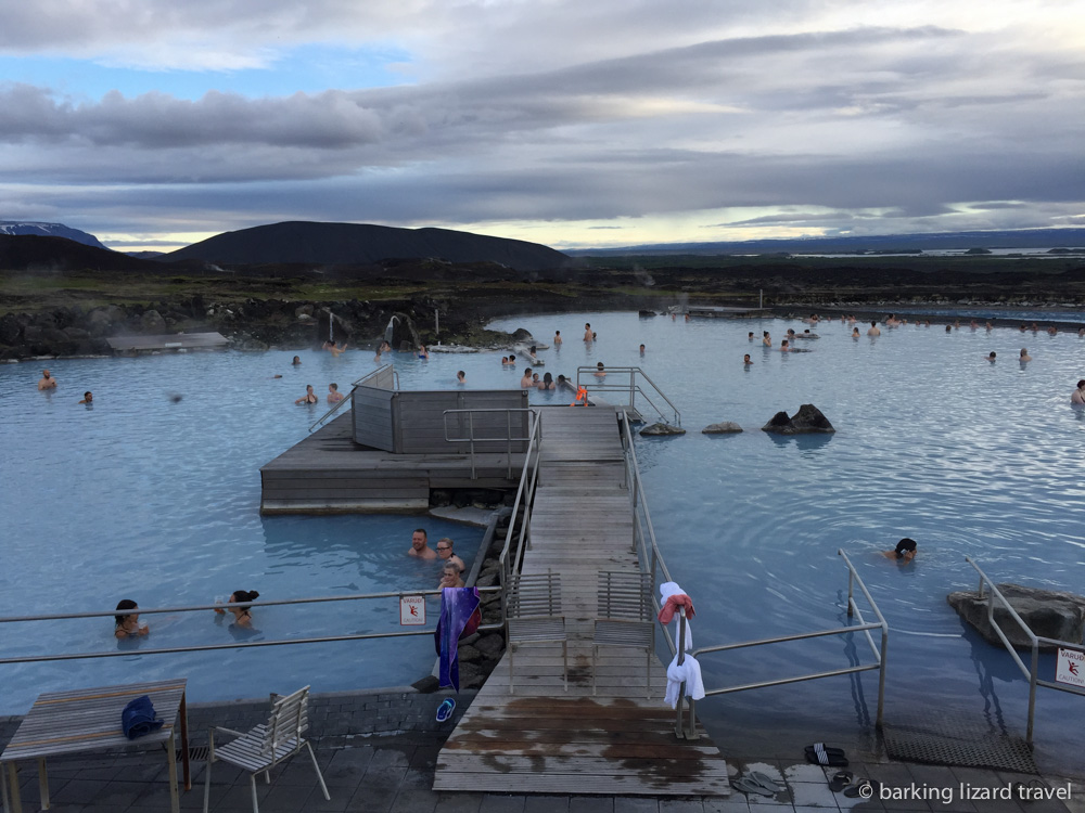 Photo of the Myvath Nature baths Northern Iceland
